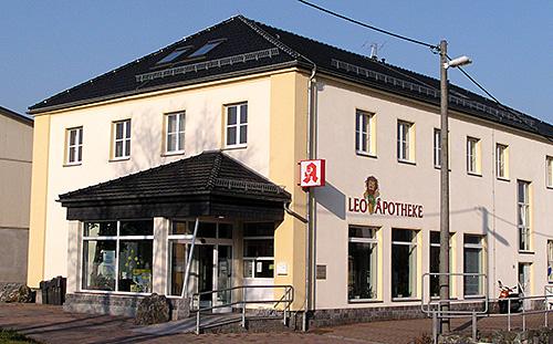 Leo-Apotheke Frankenberg Gebäude